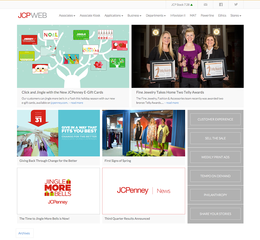 Jcpenney Associate Kiosk Home Page Houzz Review Plusarquitectura Info
